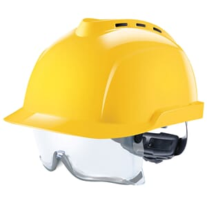V-GARD 930. Cap. Vented, Yellow