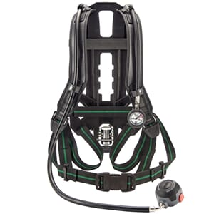 M1 basic SCBA classic line med fast lungeautomat